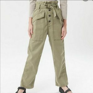 Urban Outfitters BDG Umber Womens Paperbag Waist